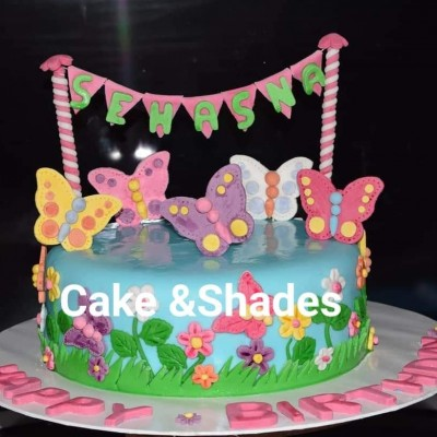Butterfly theamed birthday cake Profile Picture