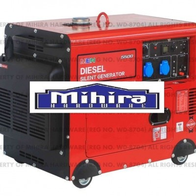 Made in THAILAND 5.5kW MEN 5500 Watts diesel generator silent ATS ready - Mihira Hardware Profile Picture