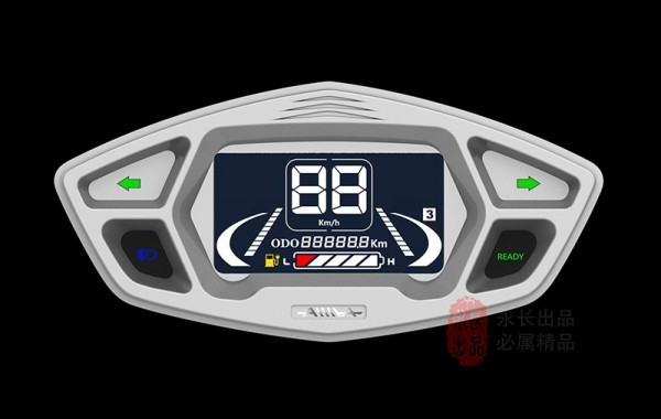 ElectricVehicleSpeedometer Is Used To Calculate And Provide Travel Information