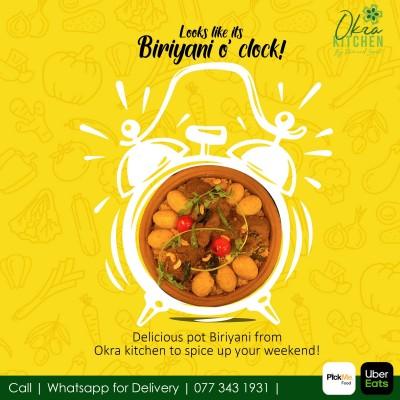 Okra Kitchen By Ravi And Sepali  Prawns Biriyani Profile Picture