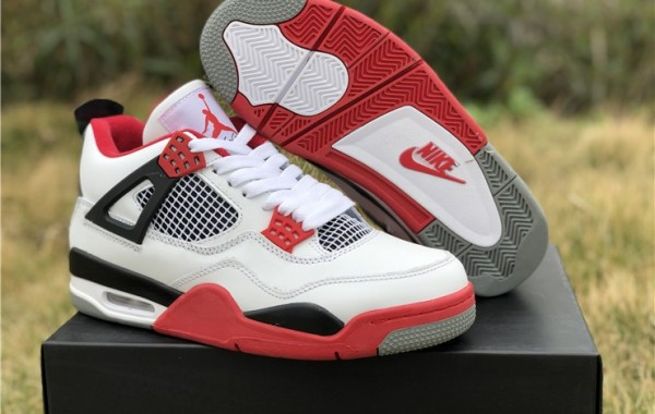 "Where To Buy The Most Popular Air Jordan 4 Retro ""Fire Red"" Online?"