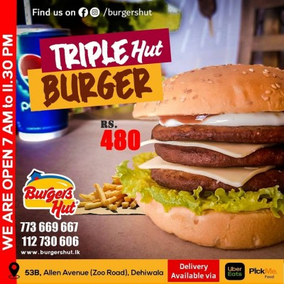 Burger S Hut Triple Hut Burger Profile Picture