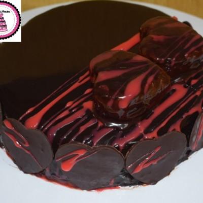 Chocolate mirror glazed cake Profile Picture