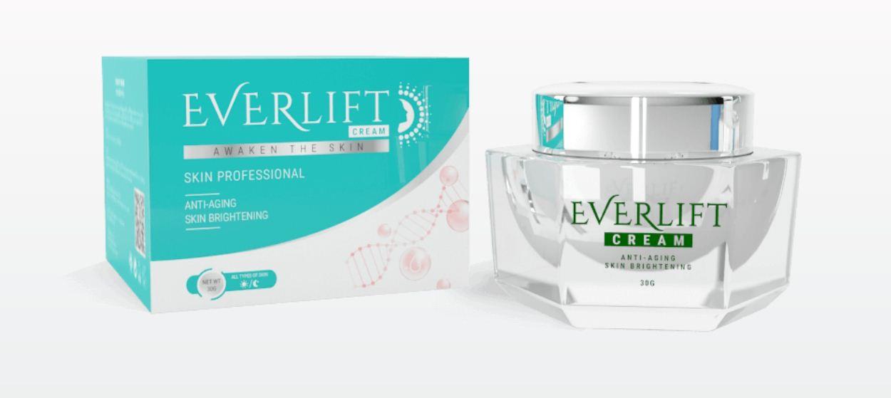 Everlift Cream - ดูอ่อนกว่าวัยขึ้นถึง 15 ปีพร้อมราคาพิเศษ 990 ฿!