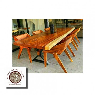 Teak Dining Table with 6 Chairs Profile Picture