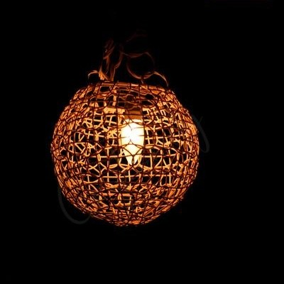 Handmade Woven Cane Lampshade Profile Picture