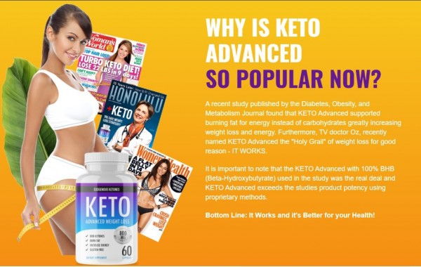 Keto Advanced - Weight Loss Supplement Ingredients Work or Scam?