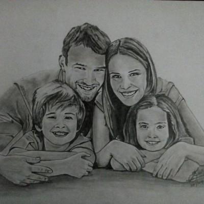 Pencil Art Profile Picture