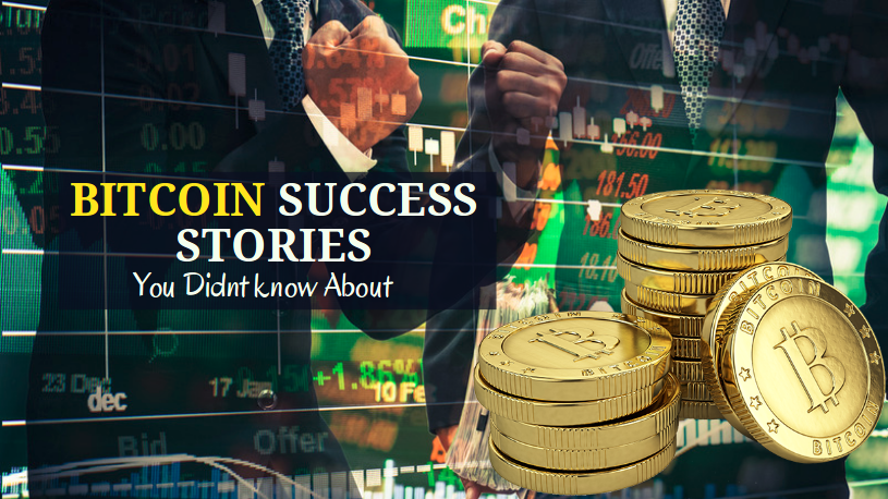 Best Bitcoin Success Stories - Crypto success stories of Millionaires